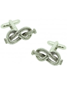 Figure 8 Nautical Knot Cufflinks