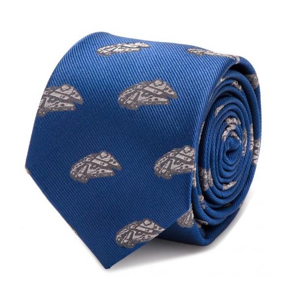 Millennium Falcon Blue Tie