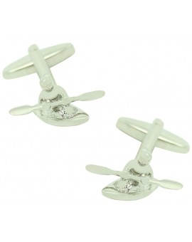 Canoeist Cufflinks