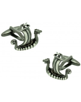 Viking Ship Cufflinks