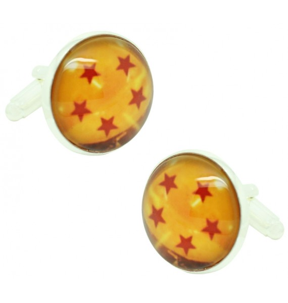 5 Stars Dragon Ball Cufflinks