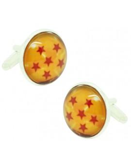 Gemelos para camisa Dragon Ball 6 Estrellas