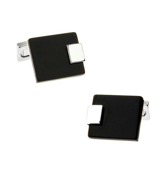 Black and Silver IX Cufflinks