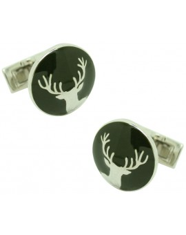 The Hunter Skultuna Cufflinks - The Deer