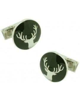 The Hunter Skultuna Cufflinks - The Deer