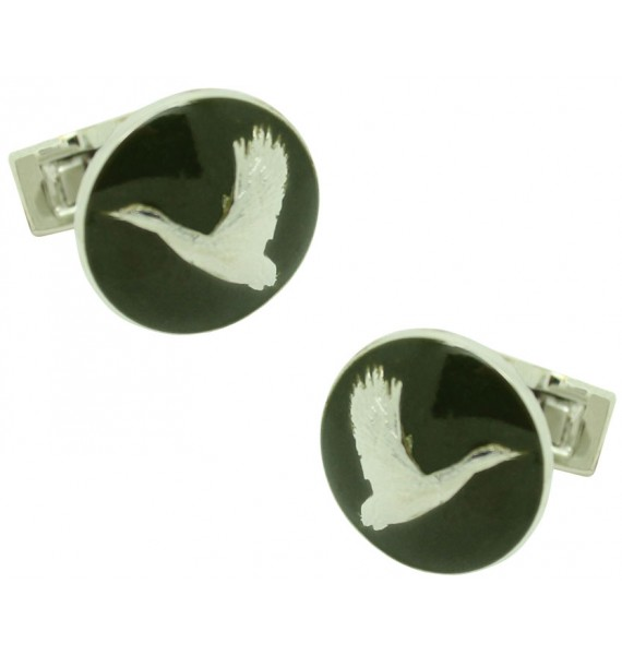 The Hunter Skultuna Cufflinks - The Flying Duck