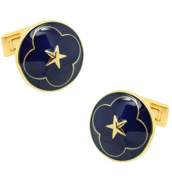 The Official Wedding Series Cufflinks - Navy Blue