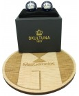Skultuna Crown Cufflinks - Blue