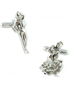 Flamenco Dancers Cufflinks