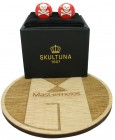 Red Skull and Bones Skultuna Cufflinks
