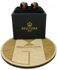 Golden Racer Skultuna Cufflinks - Black