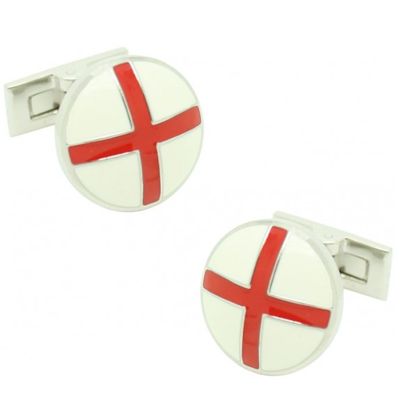 Gemelos para camisa Skultuna Cruz de San Jorge