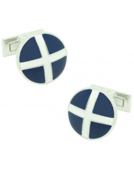 St Andrews Cross Skultuna Cufflinks