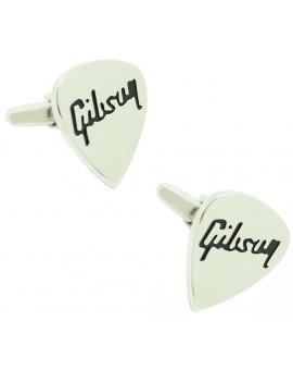 Novelty Gibson Guitar Pick Cufflinks