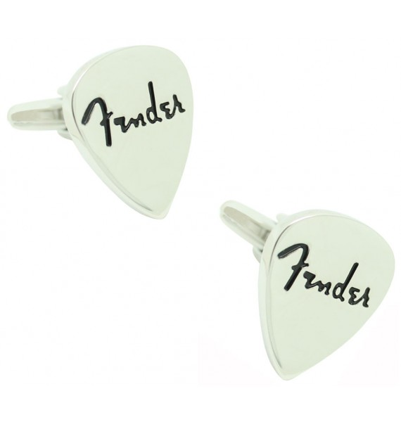 Fender Guitar Pick Cufflinks