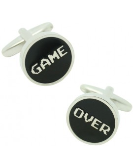 Game Over Cufflinks