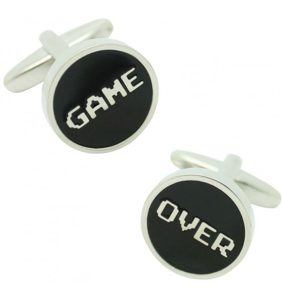 Gemelos para camisa Game Over