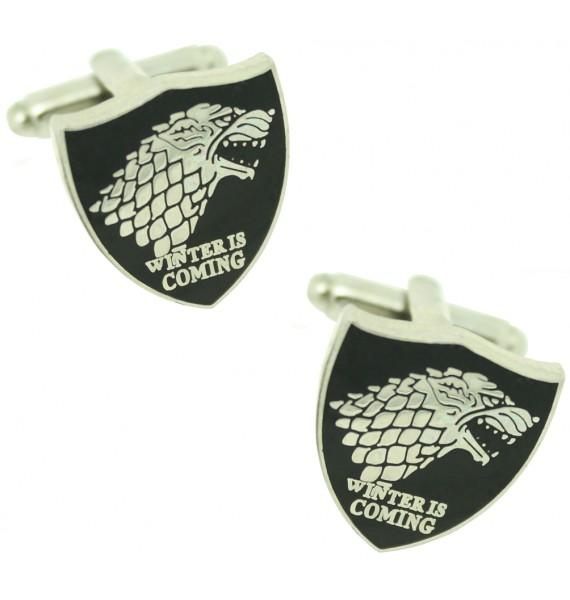 Game of Thrones Stark House Cufflinks