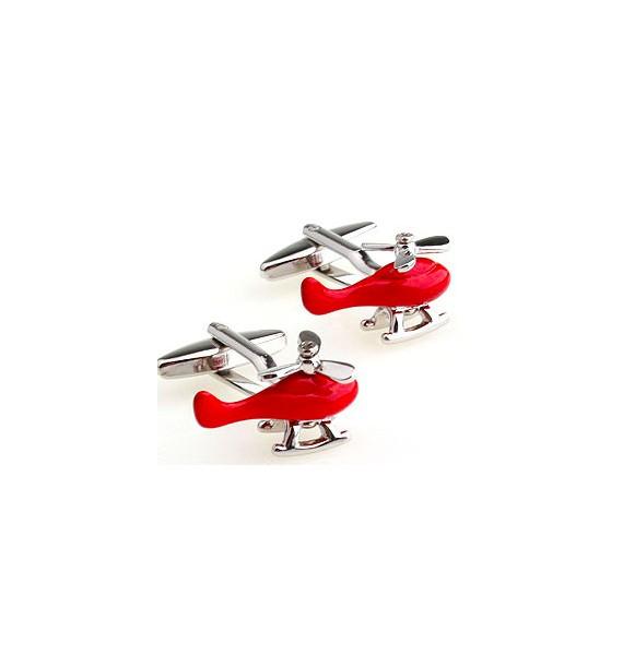 Gemelos Helicóptero Rojo