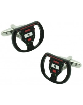 Formula 1 Steering Wheel Cufflinks