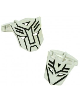 Gemelos para camisa premium Transformers Plata 925