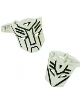 PREMIUM Sterling Silver Transformers Cufflinks