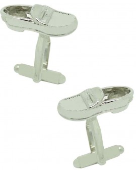 Moccasin Shoes Cufflinks