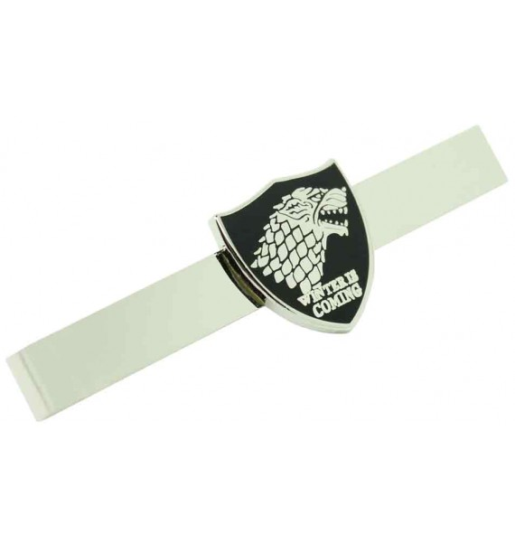 Game of Thrones Stark House Tie Clip