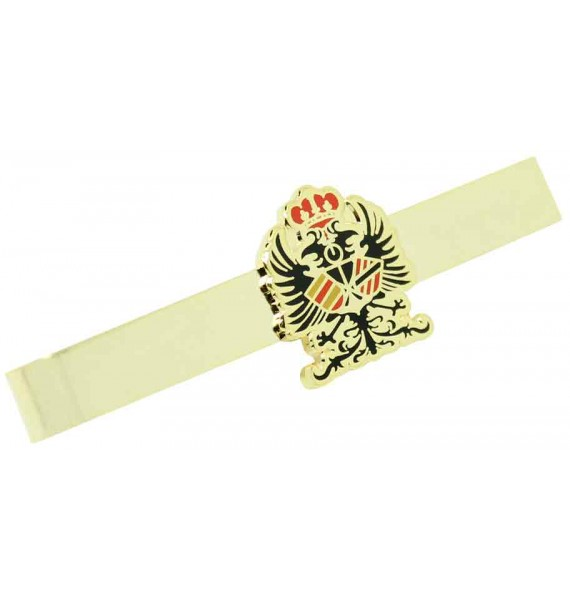 Spanish Tercio Armada Emblem Tie Clip