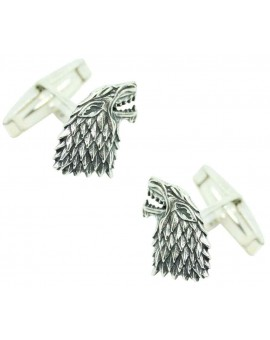 PREMIUM Sterling Silver Stark House Cufflinks