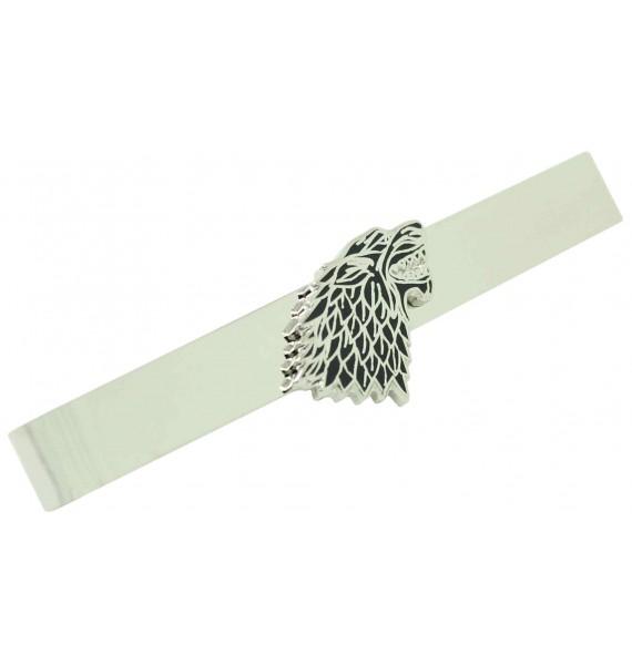 Game of Thrones Stark House Symbol Tie Clip
