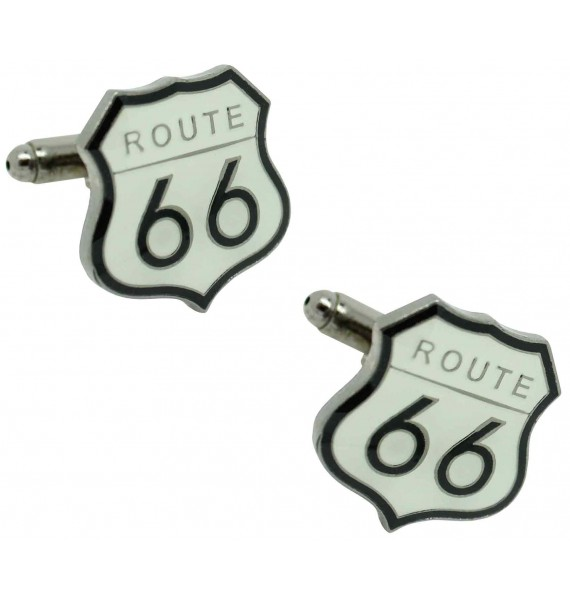 Route 66 Sign Cufflinks