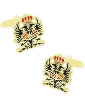 Spanish Tercio Armada Emblem Cufflinks