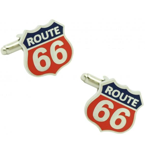Gemelos para camisa Route 66 color