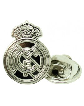 Silver Plated Real Madrid Pin