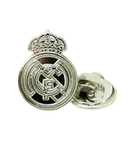 Pin Real Madrid Plateado a medida