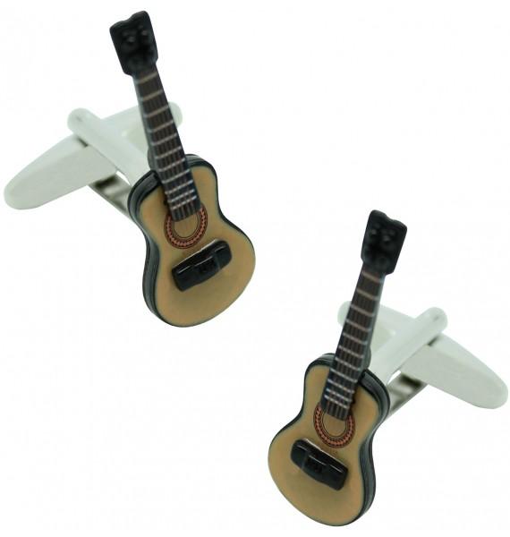 Gemelos para camisa Guitarra Española 3D Color