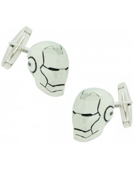 PREMIUM Sterling Silver Iron Man Cufflinks