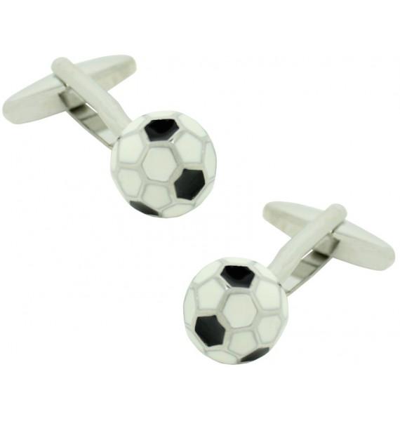 gemelos para camisa balon de futbol 3D