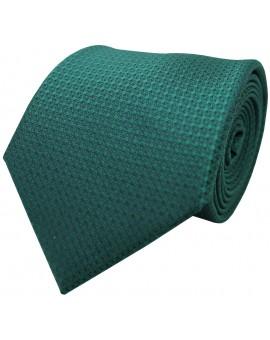 Corbata lisa en color verde para hombre