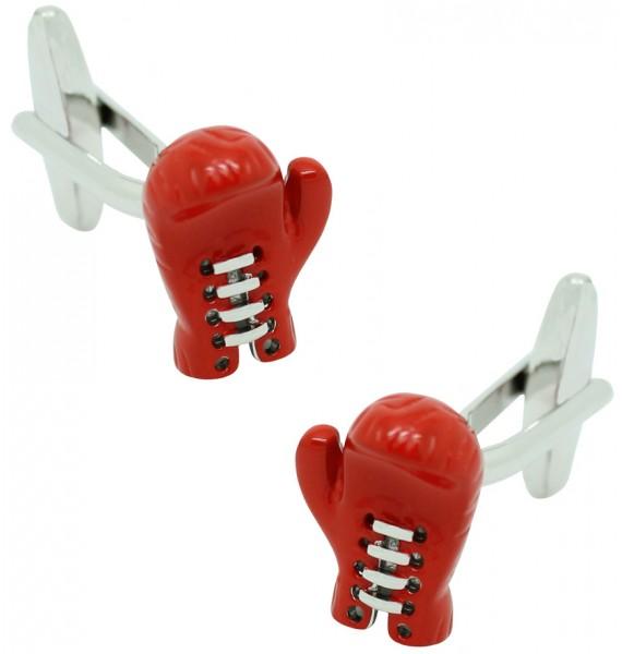 Red Boxing Glove Cufflinks