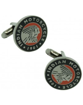 Indian Motorcycle Logo Cufflinks