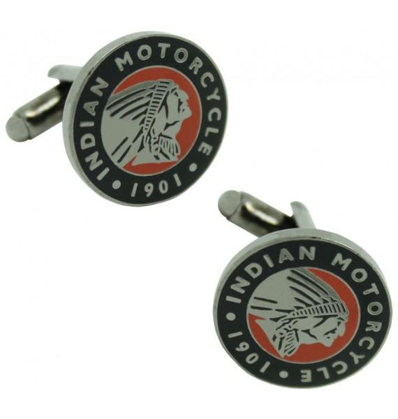 Indian Motorcycle Logo Cufflinks