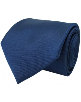 Corbata en color azul marino confeccionada en seda