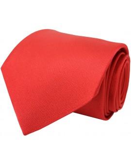 Corbata de seda en color rojo para boda
