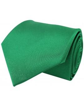 Corbata de seda en color verde