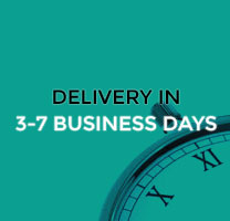 Delivery in 3-7 business days