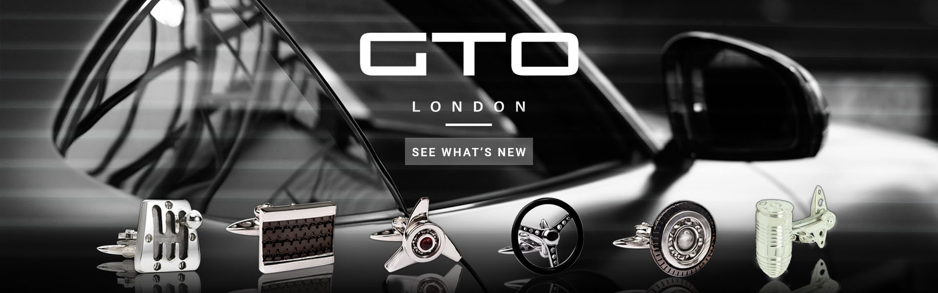 Luxury GTO London Cufflinks
