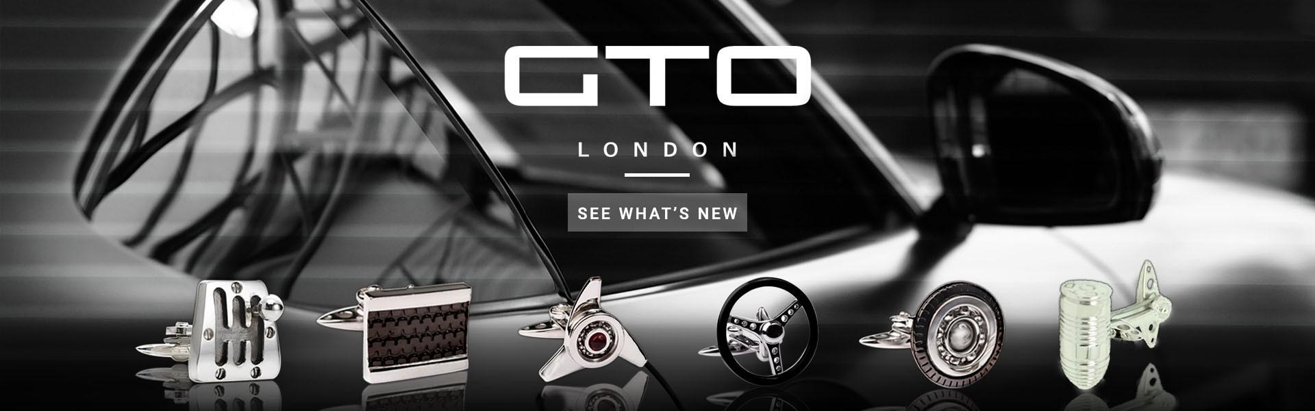 Luxury GTO London Cufflinks